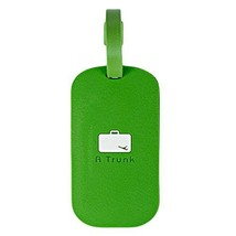Square Business Name Tag/ID Holder Luggage Tag Boarding Pass Cover-Green - $9.96