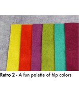 Retro 2 WDW WOOL BUNDLE - SHOW SPECIAL ONLY 8x8 squares Weeks Dye Works - $30.00