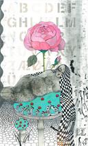 Rose. Illustration. Print. Poster. Gift. Art. H... - $80.00