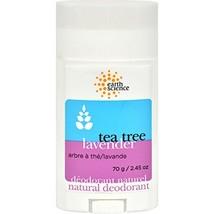 Earth Science Tea Tree & Lavender Deodorant, 2.45 oz.