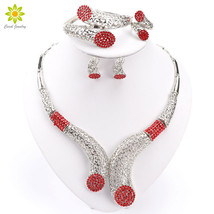 Women's Dubai Jewelry Sets Dubai Jewelry Sets African Jewelry Party Wedd... - $22.27