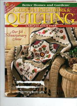 April 1998/American Patchwork & Quilting/Preowned Craft Magazine - $3.99