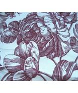 Waverly Garden Room Toile Dark Cherry Red Floral Standard Sham - $19.95