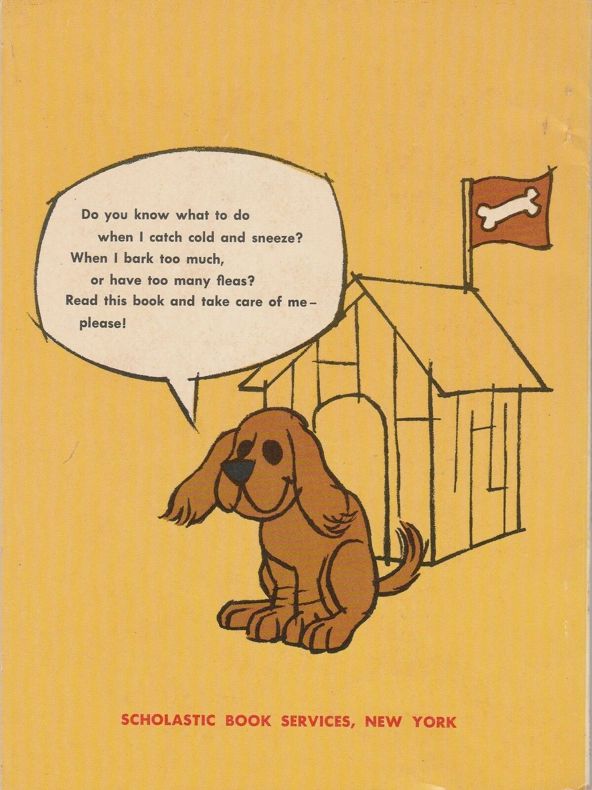 How to Care For Your Dog by Jean Bethell 1965 Norman Bridwell Scholastic TW 663