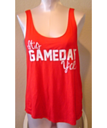It's Game Day Y'all Tank Size Small Red NWT Sweet Claire - $15.99