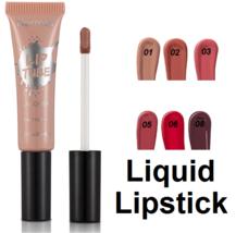 Flormar LACQUER LIP TUBE  Liquid Lipstick Non-sticky Luminous Lips - $9.76