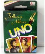 Jodhaa Akbar UNO Card Game New Mattel Game Original Hrithik Roshan Aishw... - $19.80