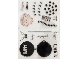 Stampin' Up! Celebrate Today Clear Cling Stamp Set #137138 image 2