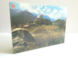 VTG Tarasp Switzerland 4870-1 Milton Bradley 2500 Pc Jigsaw Puzzle Gift ... - $39.59