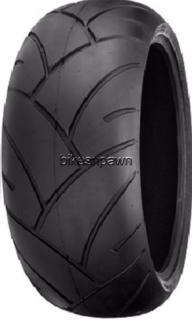 New Shinko 005 Advance Radial 200/50ZR17 Rear Motorcycle Tire