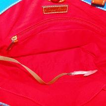 Dooney & Bourke Pebble Leather Convertible Shopper ICE BLUE image 7
