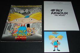 2002 HEY ARNOLD! THE MOVIE PRESS KIT Folder CD Production Notes - $11.69