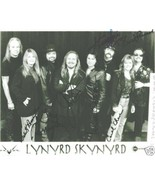 LYNYRD SKYNYRD GROUP BAND SIGNED AUTOGRAPH 8X10 RP ALL 7 SOUTHERN ROCK F... - $16.99