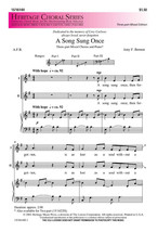 A Song Sung Once - $1.95