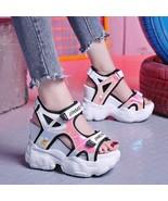 2019 Summer Women's Sandals High Heels Sandals For Women 11CM Heels Gladiator Sa - $44.28