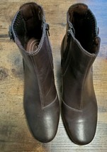 Clarks Rosalyn Lara Leather Ankle Boots Women's Size 8.5M - $80.00