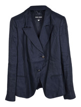 Giorgio Armani silk blend single breasted jacket - $188.47