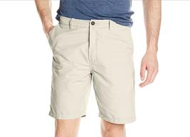 $60 Quiksilver Men's Maldive Chino Walk Shorts, Sand Stone, Size 30 - $29.69