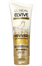 L'Oréal Paris Elvive Total Repair 5 Rapid Reviver Deep Conditioner 6 oz New - $4.50