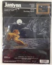 Janlynn Counted Cross Stitch Kit The King Above - $29.67