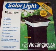 Westinghouse Solar Landscape Lighting 1 Light/3 Options - Nib! - $24.99