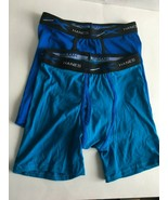 Hanes Boys 2 Pack Boxer Briefs - Size Large (10-12) Blue  New No Packaging - $3.91
