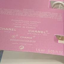 2x NEW W CARD Chanel CHANCE EDP 1.5mL (3mL Total) Eau Tendre image 4