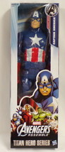 "NEW SEALED 2018 Avengers Captain America 12"" Titan Hero Action Figure - $13.99"