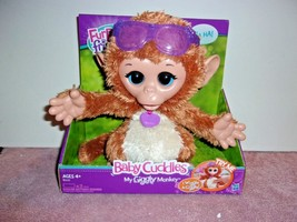 FurReal Friends Baby Cuddles My Giggly Monkey Pet Plush , New, Free Shipping - $24.99