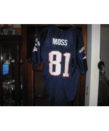 NE PATRIOTS RANDY MOSS YOUTH HOME JERSEY(XL 18/20) - $9.99