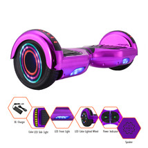 "Self balancing Electric scooter smart Hoverboard Bluetooth 6.5"" UL2272 LED - $149.99"