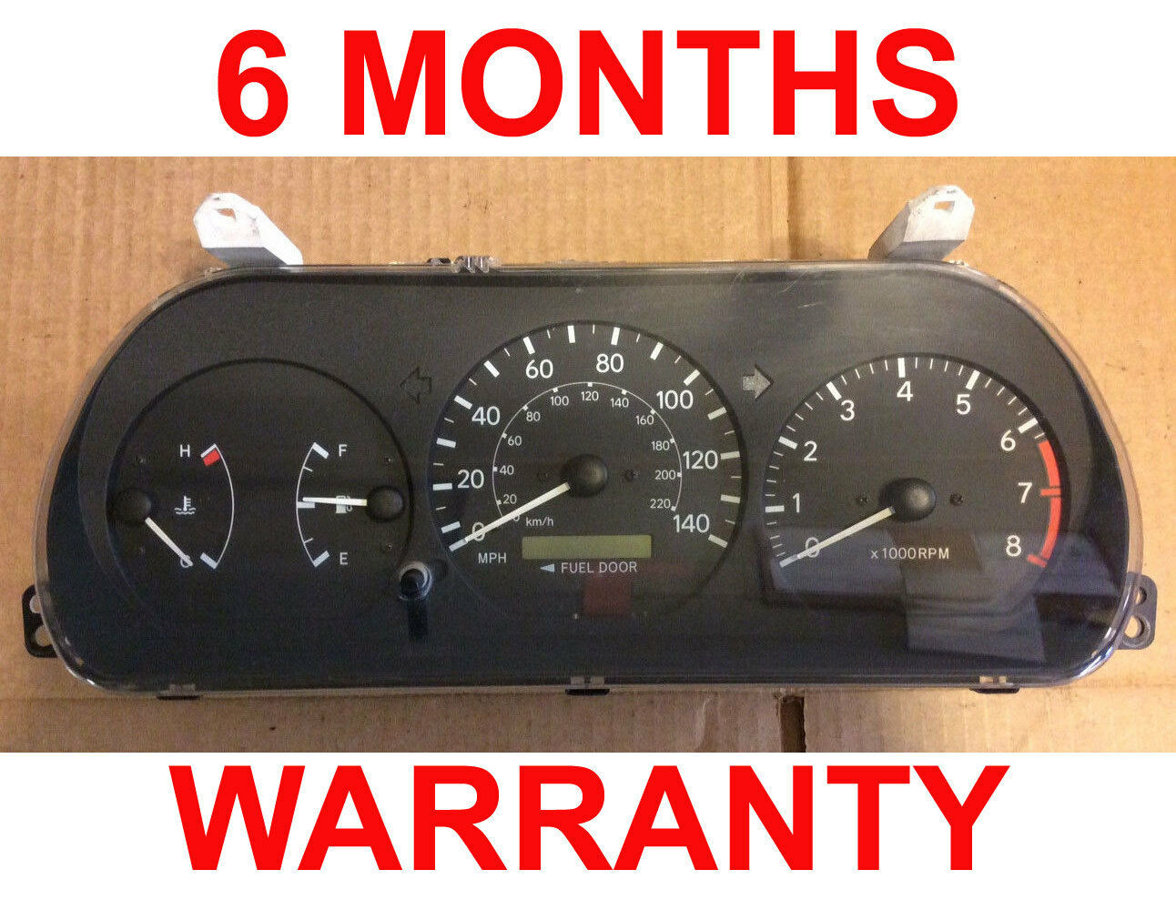 Primary image for 97 98 99 00 01 Toyota Camry 4Cyl Instruments Cluster Speedo - RARE -6Months Warr