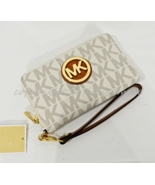 Michael Kors Fulton Large Flat Multi-Function Phone Case Wallet/Wristlet... - $99.00