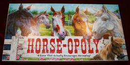 Horse-Opoly Game Monopoly Horse Equine Horseopoly Exc Condition Board - $13.55