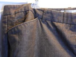 Pant Slacks Brown Jean Dress Barn Woman Size 18 Plus Stretch - $12.86