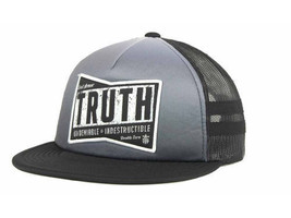 TRUTH INDESRUCTIBLE MESHBACK SNAPBACK TRUCKER CAP/HAT- OSFM - $18.04