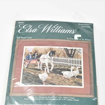 "Elsa Williams The Pony Cart 14"" x 10"" Needlepoint Kit 06435 Unopened NEW - $49.46"