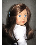 American Girl of Today Doll, Blue Eyes, Brown Hair, Freckles - $66.00