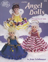 Angel Dolls, 13 inch Doll Dresses Crochet Clothes Pattern Booklet ASN 1215 - $3.95
