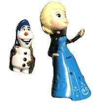 Disney Frozen Else & Olaf Set Lot Figure Dolls Cake Topper Decor Toys - $16.33