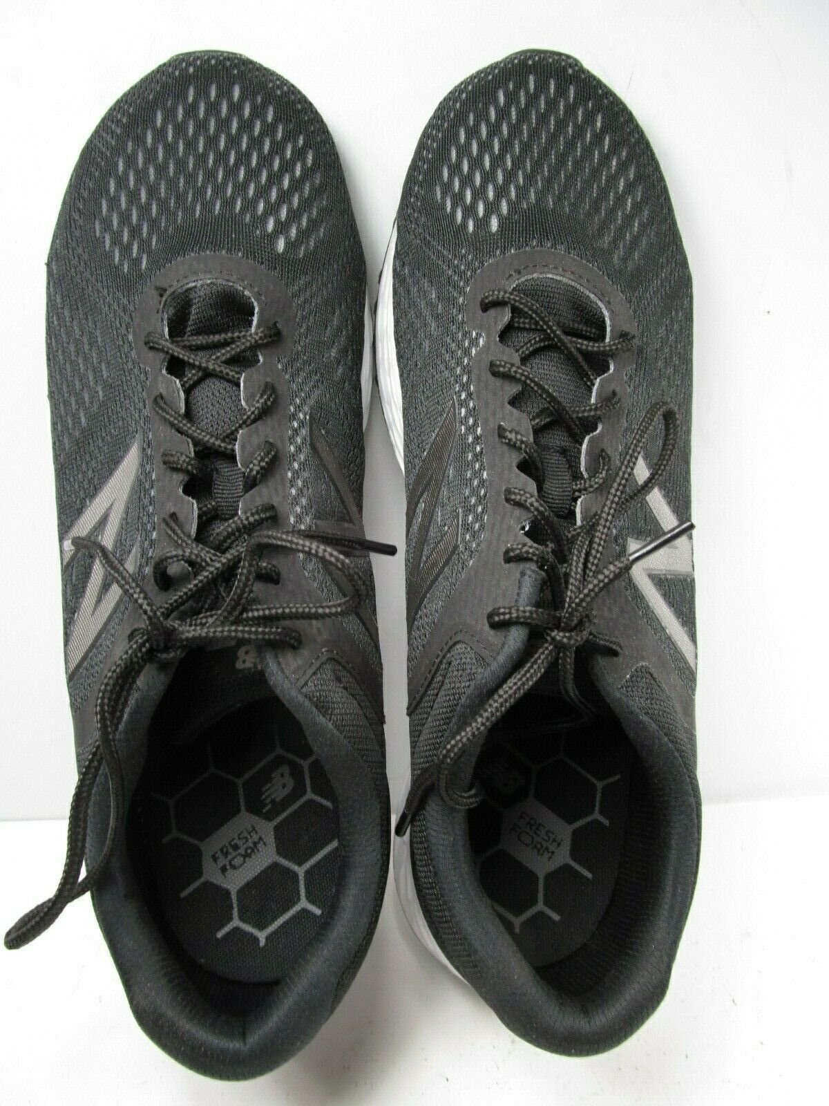 New Balance Fresh Foam Airshi Mens 11.5 4E Black Sneakers Shoes EUC