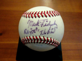 MARK FIDRYCH ROY 76 THE BIRD DETROIT TIGERS SIGNED AUTO VINTAGE OL BASEB... - $197.99