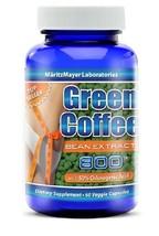 MaritzMayer Laboratories Green Coffee Bean Extract, 800 mg per Capsule, ... - $10.94