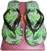 Tory Burch Thandie Platform Wedge Thong Rubber Flip Flop Sandal  9- 39 S... - $52.95
