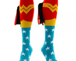 Wonder woman knee high shiny cape socks thumb155 crop