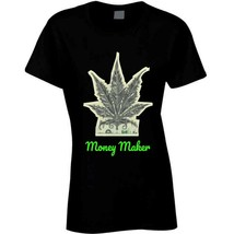 Money Maker 420 Canna Ladies T Shirt image 2