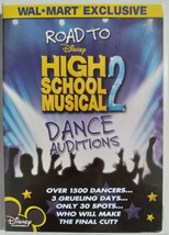 DVD  -  HIGH  SCHOOL  MUSICAL  2  ( ROAD  TO  DANCE  AUDITIONS )  -  MOVIE - $3.00