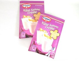 Dr.Oetker Cheesecake Cream Dessert  -PACK OF 2/ 4 servings FREE SHIPPING - $10.88