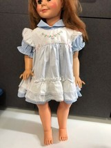 vintage my sz patty play pal size doll dress blue white petit Joet Frenc... - $26.98