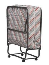 Rollaway Bed with Mattress Guest Folding Premium Sleeper Wheels Cot Roll... - $197.95